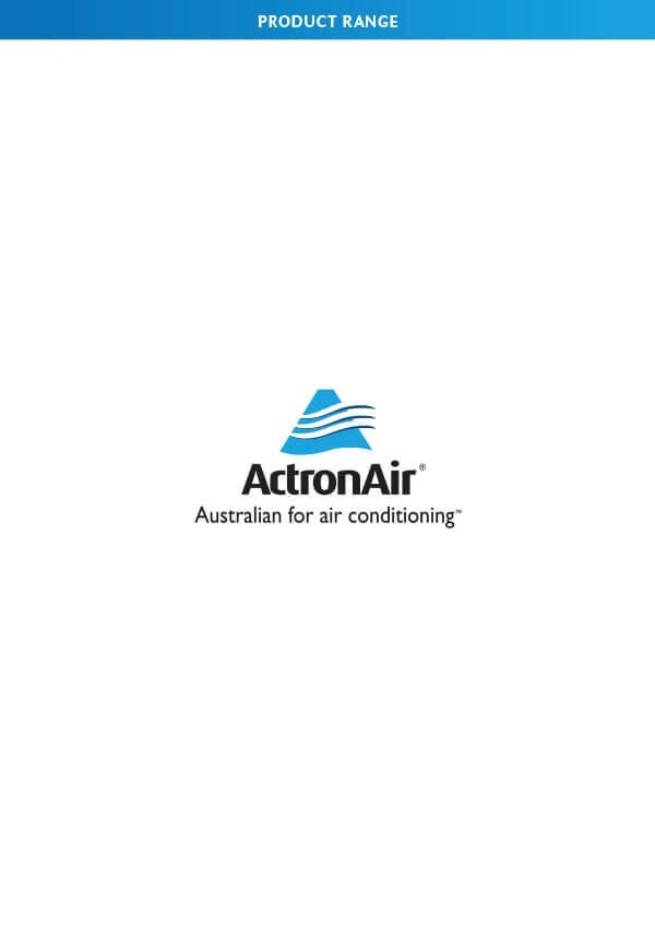 ActronAir Product Range