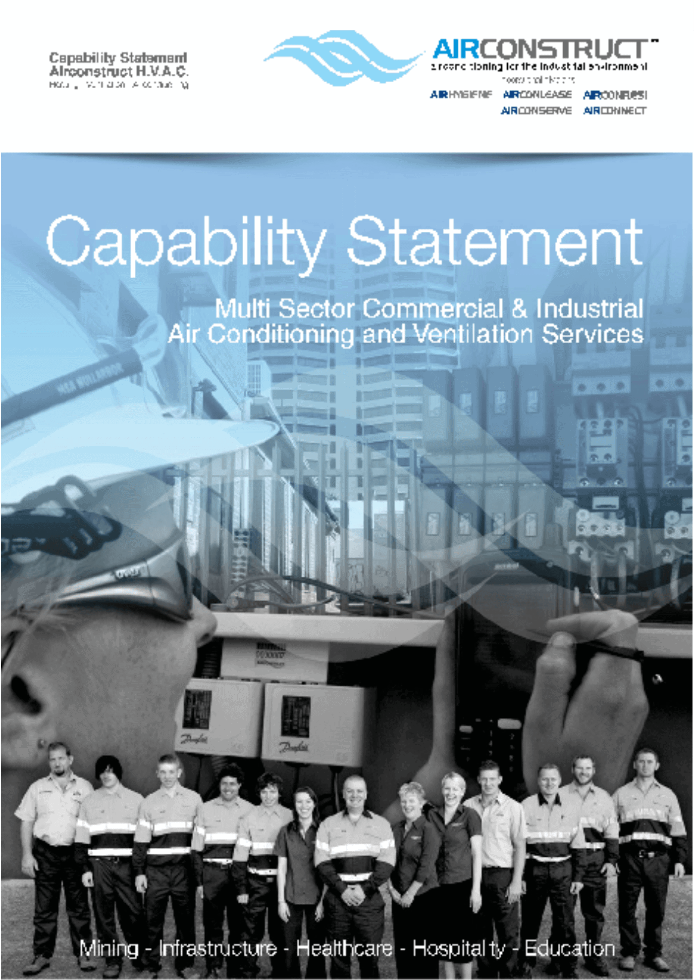 2014 Airconstruct Capability Statement