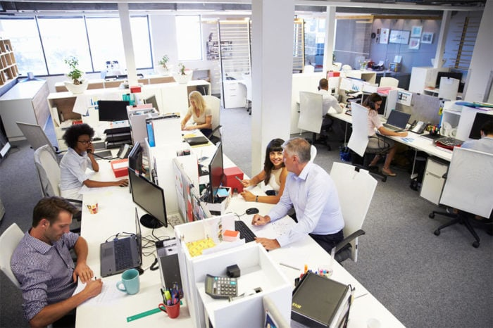 Busy office