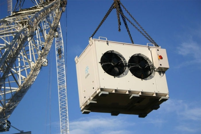 iCool Prototype Package Unit For Draglines